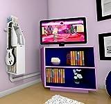 GameOn Video Gaming Console Storage - Black