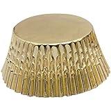 Fox Run 4924 Gold Foil Bake Cups, Standard, 32 Cups