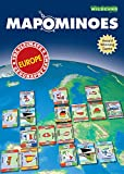 MAPOMINOES EUROPE – The Ultimate Geography Game – Fun and educational travel card game about connecting European countries for kids teens and adults. Like dominoes with maps.