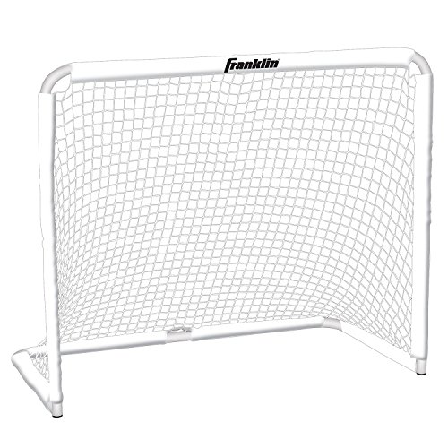 "Franklin Sports Steel Goal - All Sport Soccer, Lacrosse Field Hockey and Street Hockey Goal - 50""x42"" Youth Goal and Net - Backyard Goal"