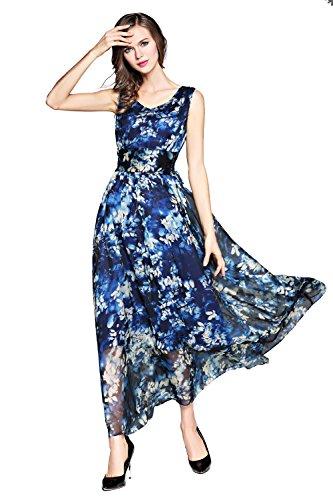 joy blue dress - 1