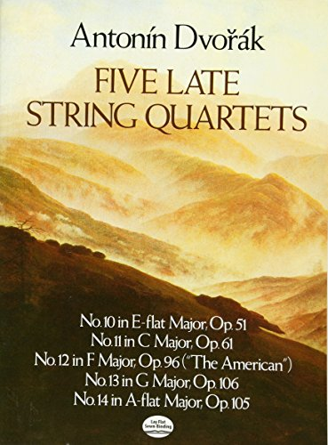 Five Late String Quartets (Dover Chamber Music Scores)