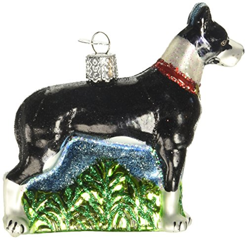 Old World Christmas Great Dane Glass Blown Ornament