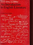 Image de An Introduction to English literature: From Sidney to Sillitoe (Hachette Education)