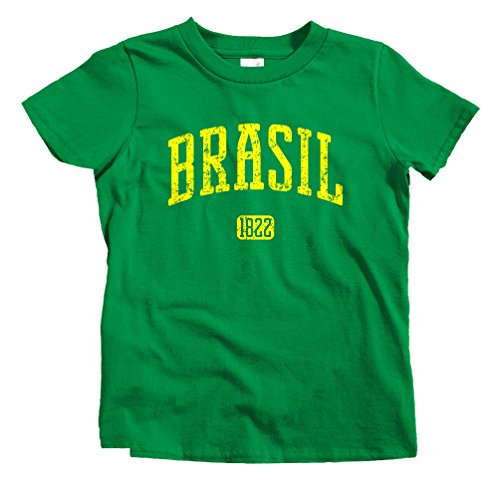 smash-vintage-kids-brasil-1822-brazil-t-shirt-kelly-green-youth-small