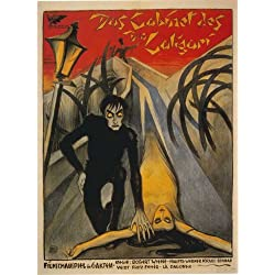 The Cabinet of Dr. Caligari Poster Movie Italian 11x17 Conrad Veidt Werner Krauss Lil Dagover