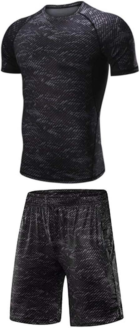 Sun Lorence 2//3//4//5 Pcs Mens Compression Leggings /& Shirts Base Layer Set Long Sleeve Jacket Suit