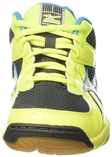 Mizuno Wave Twister - Zapatillas de deporte Hombre Multicolore (SafetyYellow/White/AtomicBlue)
