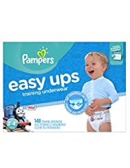 Pampers Easy Ups Training Underwear Boys, Size 5, 3T-4T, 148 ...