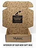 Best Cat Lover Coffee Lover Funny Gifts Sampler Set for Cat Mom or Dad | Insanely Good and Ridiculously Fun | 8 Delicious Fresh Roasted Coffees with Humorous Feline-Inspired Names in Gift Box