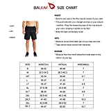 BALEAF Men's 7 Inches Athletic Running Workout