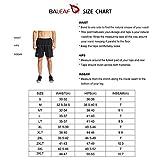 BALEAF Men's 7'' Athletic Running Workout Shorts
