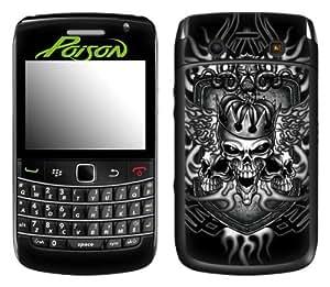 MusicSkins, MS-POIS10043, Poison - Fireskull, BlackBerry Bold (9700), Skin
