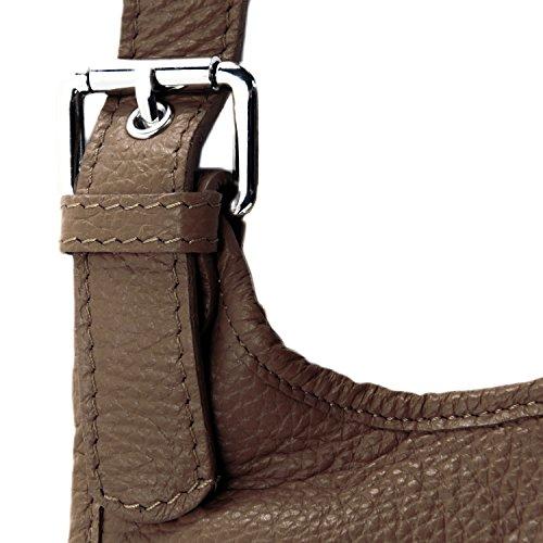 cuir sac grainé Fonce collection modèle Cuir main nouvelle à 2018 Destock Taupe lively bandoulière YXOx5OwRq