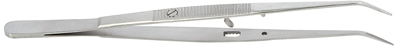 Comdent 20-866-2 Tweezer with Ratchet-Lock, Serrated Commic International Limited