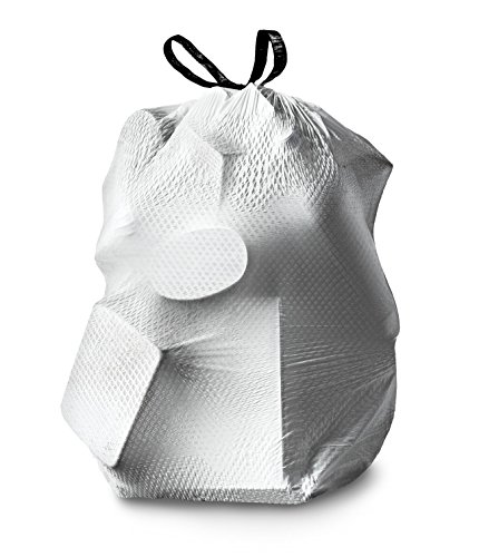 012587703205 - Glad ForceFlex OdorShield Tall Kitchen Drawstring Trash Bags, Fresh Clean, 13 Gallon, 34 Count carousel main 6