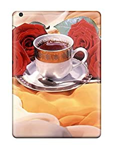 XiFu*MeiNew Premium Flip Case Cover Hot Tea And Roses Skin Case For Ipad AirXiFu*Mei