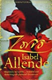 Front cover for the book Zorro by Isabel Allende