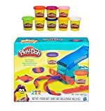 Play-Doh Fun Factory Set + Play-Doh Rainbow Starter Pack Bundle