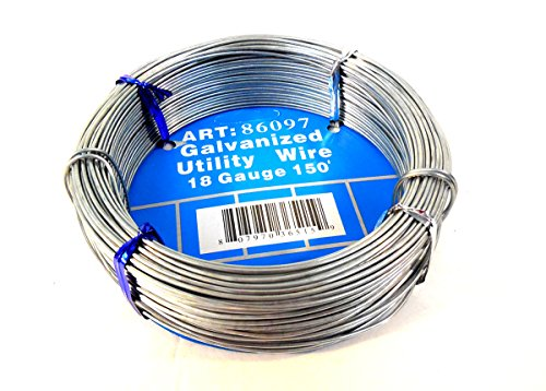 18-Guage Galvanized Utility Steel Wire Rolls For Home Craft Project