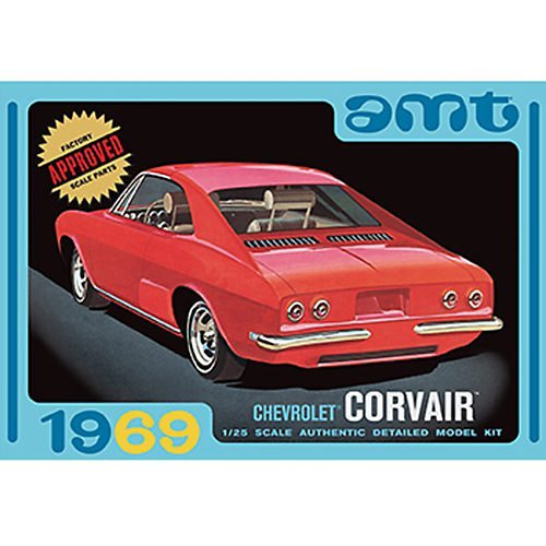 AMT 1:25 Scale 3-in-1 Chevrolet Corvair Edition Model Kit Build Sci Fi Model