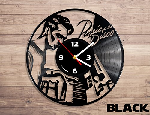 Panic! At the Disco music vinyl record wall clock