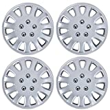 hyundai 14 wheel cover - BDK Hubcaps 14 Inch Wheel Protection - OEM Replacement, Easy Installation, Total 4 Pieces (2 front 2 rear)