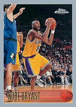 Amazoncom Kobe Bryant 1996 97 Rookie Reprint Card Lakers