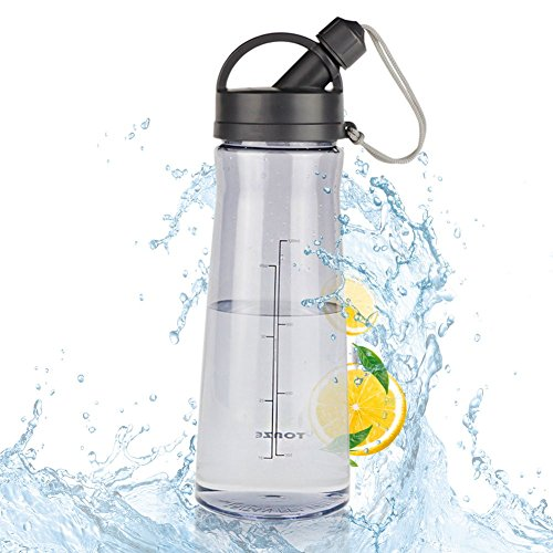 SW Outdoor Water Bottle BPA Free Water Bottle for Men Women Polyester Plastic Portable 54 oz Large Bodybuilding Outdoor Sports Gym Workout Hiking & Office Water Bottle by SW