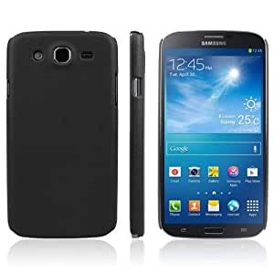JUJEO Enkay Litchi Texture Protective Plastic Case for Samsung Galaxy Mega 5.8/I9150/I9152 - Non-Retail Packaging - Black