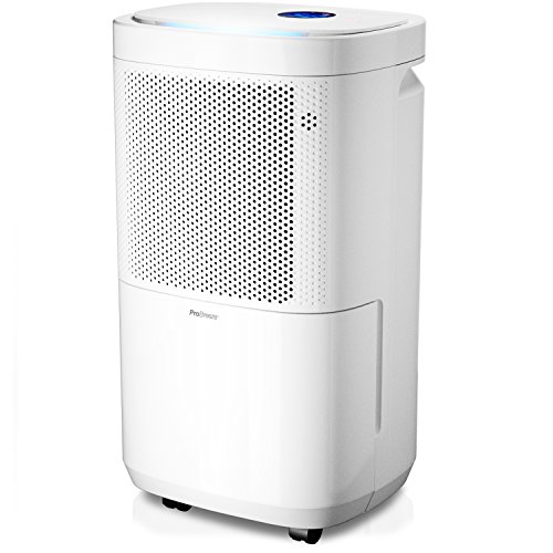 Pro Breeze 12L Portable Dehumidifier with 4 Modes, Digital Display,...