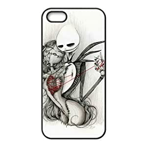 phone covers Nightmare Before Christmas Cases for iPhone 5c (TPU)
