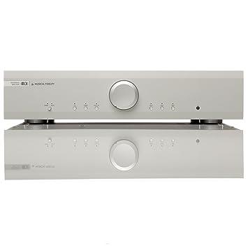 Musical Fidelity M3i Amplificador de 76 W - plata: Amazon.es: Electrónica