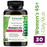 Cheap Women's 45+ 1-Daily Multi – Multivitamin with CoQ10, Vitamin K2 (MK-7) & Extra Calcium – Supports Healthy Heart, Strong Bones, Balanced Hormones, & More – Emerald Laboratories – 30 Vegetable Capsules