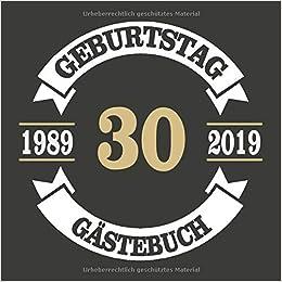 30 Geburtstag Gästebuch Geschenk Zum 30 Amazoncom