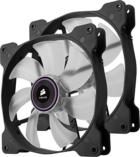 Corsair Air Series SP 140 LED Purple High Static Pressure Fan Cooling - twin pack by Corsair (Image #3)