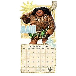 Moana Wall Calendar (2019)