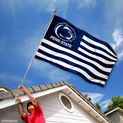 Penn State Nittany Lions Stars and Stripes Nation Flag