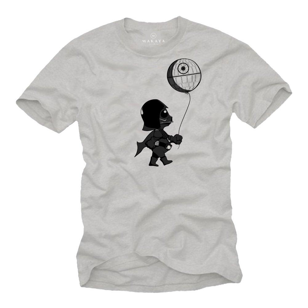 MAKAYA Baby Vader T-Shirt mit Todesstern