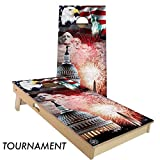 'Merica Cornhole Board Set 4' by 2' Tournament size
