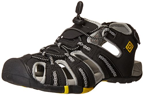 160912 Outdoor Yellow w Summer grey Adventurous Women's Pairs Dream Sandals Black Lt 6OEqwYaPx