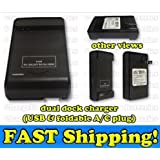 OrangeTag External Battery Charger for Samsung Galaxy S4 S IV SIV i9500 - Dock - Travel...