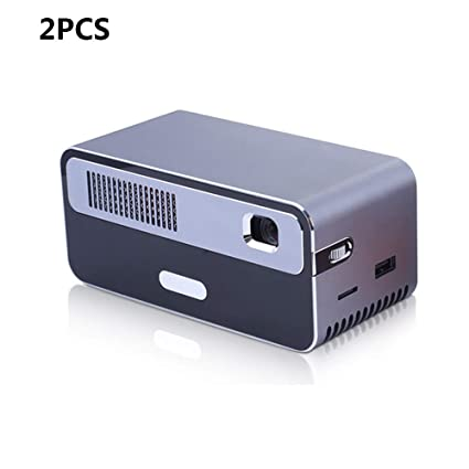 Mini Proyector DLP Portátil Batería 6700MA Incorporada ...