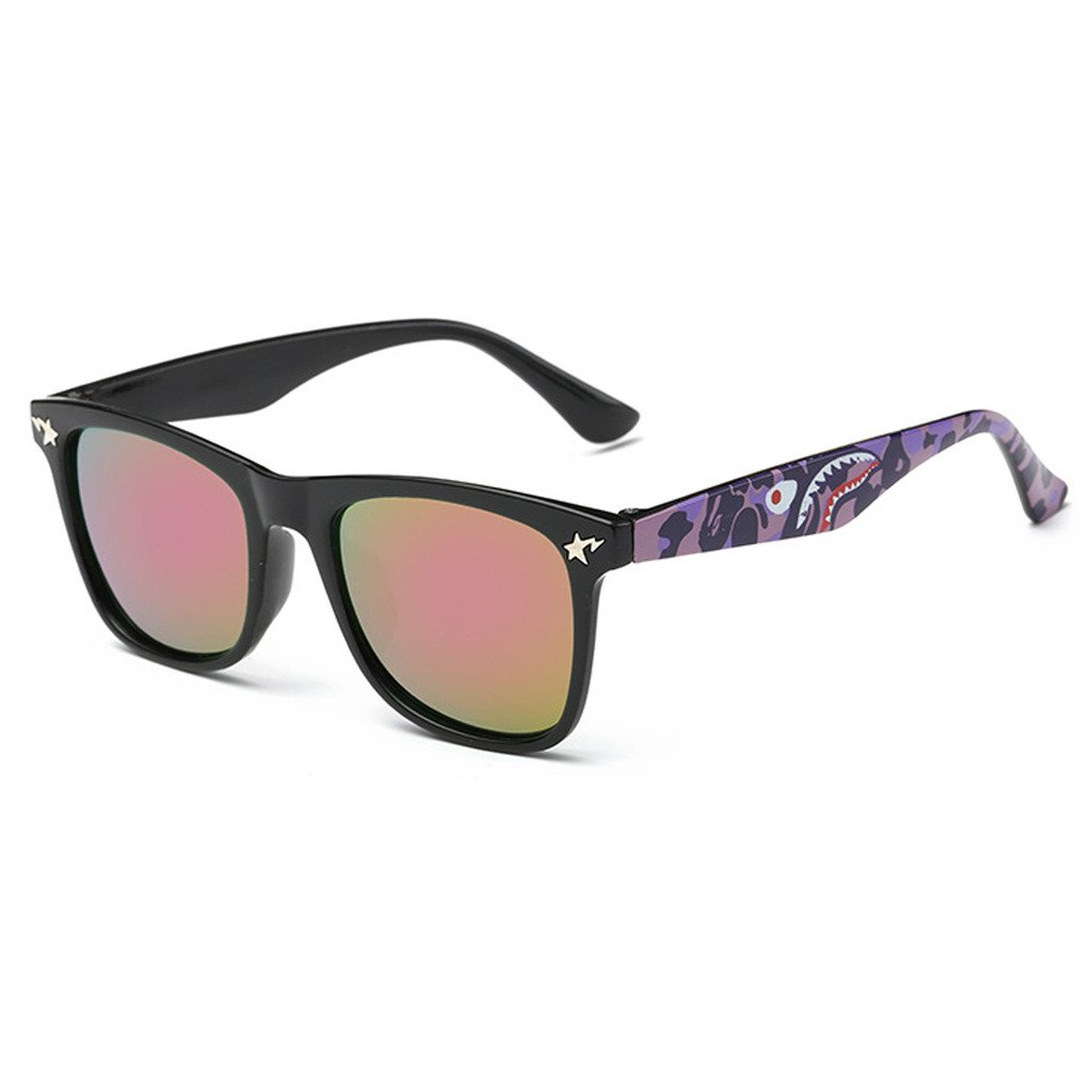 Evebright Kids 80's Classic Retro Shark Wayfarer Sunglasses Uv400 15604