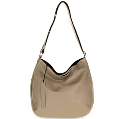 f85d5783c6 Amazon.com: Bruno Rossi Italian Made Beige Leather Large Hobo Bag with Side  Pocket: Shoes