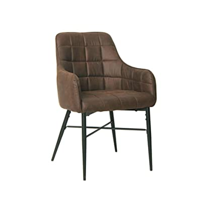 Astounding Tukailai 2Pcs Brown Occasional Upholstered Faux Leather Evergreenethics Interior Chair Design Evergreenethicsorg