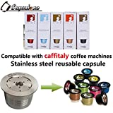 Capsulone compatible caffitaly coffee Machine STAINLESS STEEL Metal capsule coffee refillable reusable filter