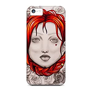 Iphone 5c DOt5363geMU Custom Nice Queen Pattern Shock-Absorbing Hard Cell-phone Cases -IanJoeyPatricia