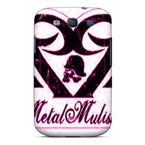 (CHW5707zool)durable Protection Cases Covers For Galaxy S3(metal Mulisha)