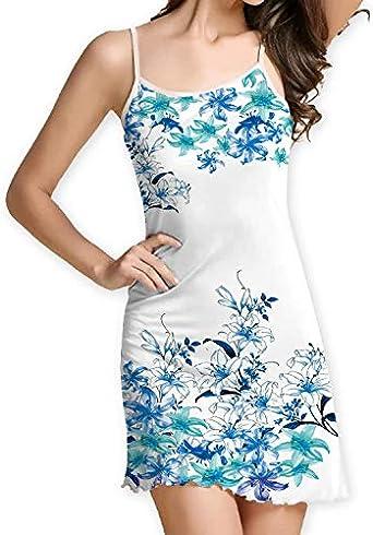 OPAKY Vestido Fiesta Mujer Vestido Elegante Vestido Cintura Alta ...